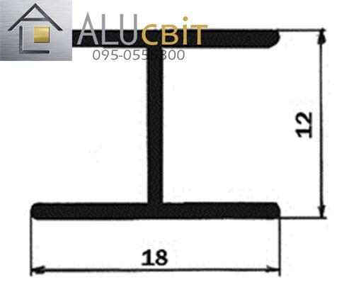 Профиль соединительный для шкафов купе SLIPP