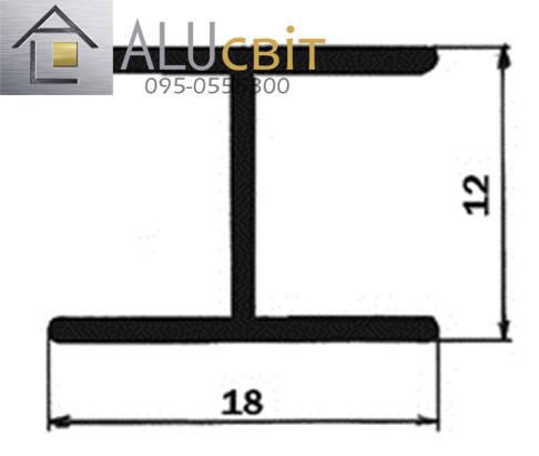 Профиль соединительный для шкафов купе SLIPP , фото 2