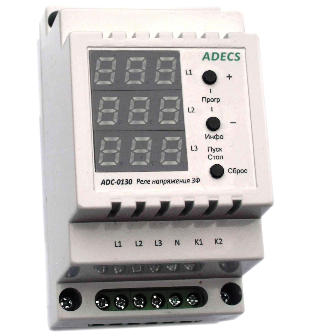 Реле защиты сети 3-фазное ADC-0130-10