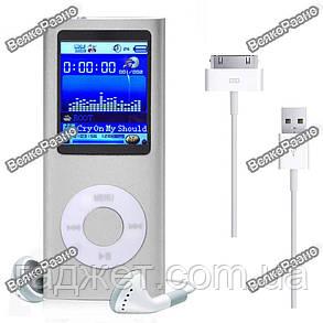 MP3/MP4 плеер копия Apple iPod Nano с цветным дисплеем, фото 2