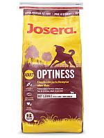 Josera Optiness 15 кг -сухой корм для собак с пониженным содержанием белка