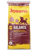 Josera Balance 15 кг - корм для пожилых и малоактивных собак
