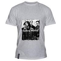 Стильная футболка коттоновая с принтом Depeche Mode