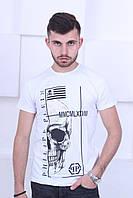 Белая мужская футболка Philipp Plein