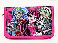"""Пенал - книжка """"Monster High"""" MH13-621K, ТМ Kite"""