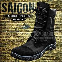 Берцы тактические (SAIGON) BLACK Летние