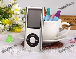 Стильный тонкий MP3 MP4 плеер на 32 гб встроенной памяти, фото 3