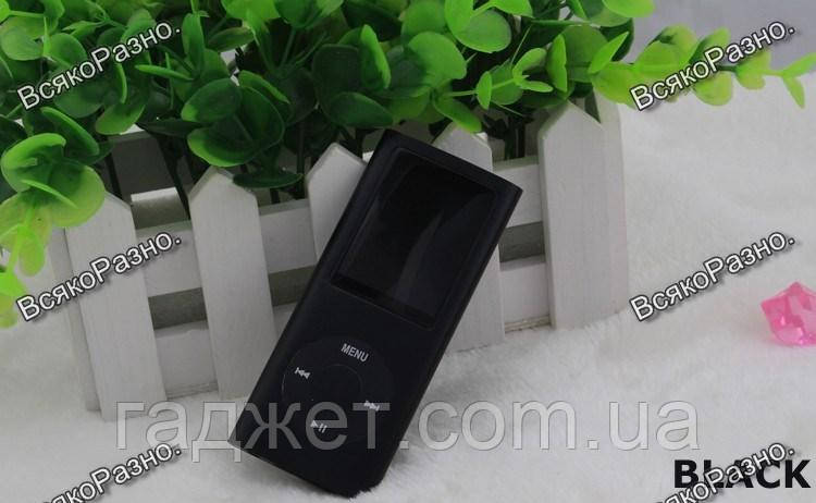 Стильный тонкий MP3 MP4 плеер на 32 гб встроенной памяти