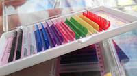 Ресницы цветные Nagaraku радуга