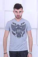 Мужская футболка с V-образным вырезом Philipp Plein