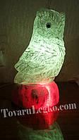 Соляная лампа Сова (10 кг)