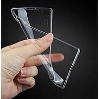 Силиконовый чехол 0,33 мм для LG K500 X Screen / X View прозрачный