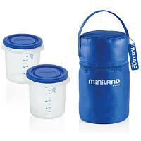 Miniland Термос с контейнером Pack-2-go hermisized 89071