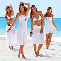 Уценка! Пляжное платье универсальное УСС7033