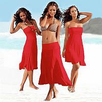 Пляжное платье универсальное СС7033