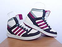 Кроссовки Adidas Neo 100% ОРИГИНАЛ р-р 36 2/3 (23см) (Б/У СТОК) адидас нео original высокие