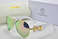 Солнцезащитные очки Versace розовые