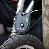 Кодовый замок на дверцы или коляску Stroller lock L10320