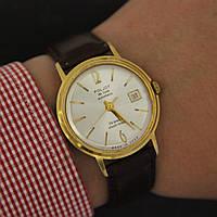 Poljot de luxe automatic часы с календарём СССР