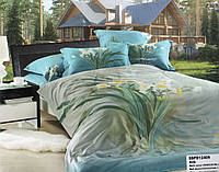 Шикарный Комплект постельного белья 3d сатин