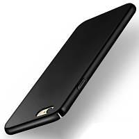 Пластиковая накладка Soft Touch для Samsung J730 Galaxy J7 (2017) черный