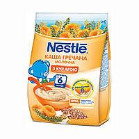 Молочная каша Гречневая с курагой и бифидобактериями с 6 месяцев 180 г Nestle 1100225