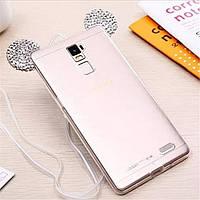 Силиконовый чехол - ушки Микки Мауса для Huawei Y3 II