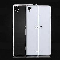 Силиконовый чехол 0,33 мм для Sony Xperia Z L36i ( C6603 )прозрачный