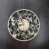 Фигурные настенные часы «Вальс бабочек»