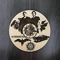 Часы настенные круглые «Сверхъестественное»