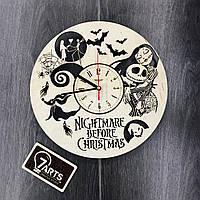 Часы настенные большие «Nightmare before Christmas»