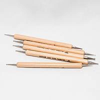 Дотс для дизайна ногтей ручка-дерево