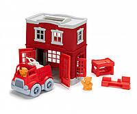 """ЭКО Игровой набор """"Пожарная cтанция"""" Green Toys"""