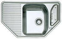Кухонная мойка Teka Texina 45 E полированная (1,0 мм) витрина