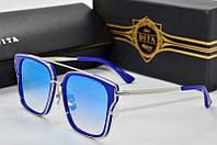 Солнцезащитные очки квадратные Dita Arrow blue