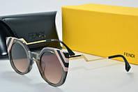 Солнцезащитные очки Fendi серые