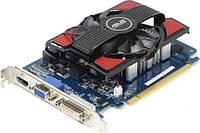 Видеокарта ASUS PCI-Ex GeForce GT 730 2GB, DDR3, 128bit (VGA, DVI, HDMI) (GT730-2GD3) комиссионный товар