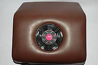 Настольная вытяжка-пылесос для маникюра DeniC brown