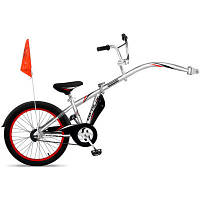 Weeride Велосипед-прицеп Co pilot цвет: silver