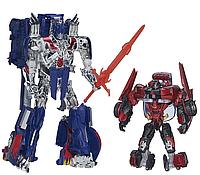"""Эксклюзивный набор Оптимус Прайм и Сайдсвайп - Optimus Prime & Sideswipe, """"Platinum Edition"""", Hasbro"""