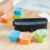 Skip hop Термос с контейнерами Mealtime kit 293150