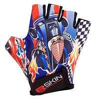 Детские спортивные перчатки Cars 6 GV-BS540 Blue