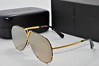 Солнцезащитные очки Louis Vuiiton зеркальные