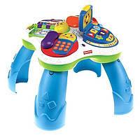 Детский развивающий интерактивный столик Fisher-Price из серии Laugh & Learn