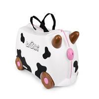 Trunki Детский дорожный чемоданчик Cow 047