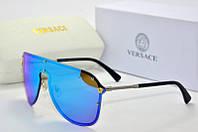 Солнцезащитные очки Versace голубые