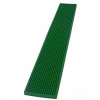 Коврик барный резиновый 70х10 см. зеленый The Bars