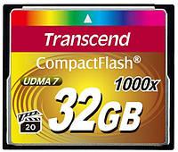 Карта памяти transcend compact flash 32 Гб 1000x (ts32gcf1000)