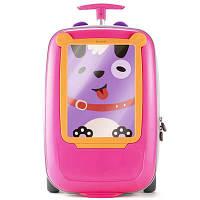 Детский чемодан 3 в 1 GoVinci GV425 pink