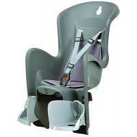 Детское велокресло Boodie for CFS цвет: grey-silver 8630500003